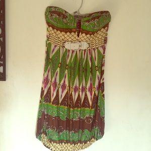 Sky brand dress / with belt 🌹🌹mini dress